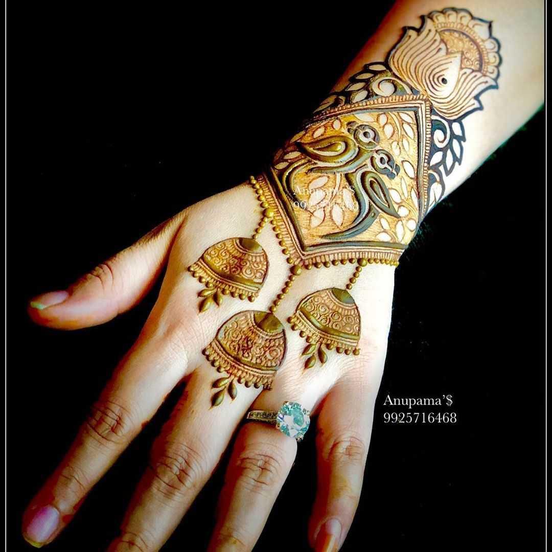 Rakshabandhan Special Mehandi Design