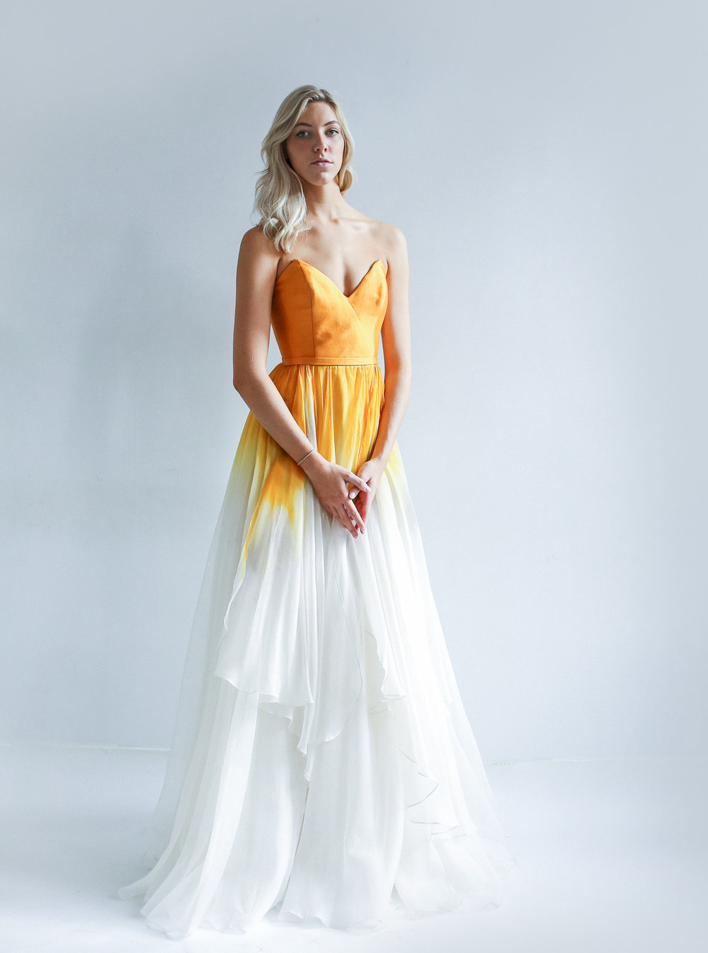 The Aurora Gown - Colourful Wedding Dress Inspiration