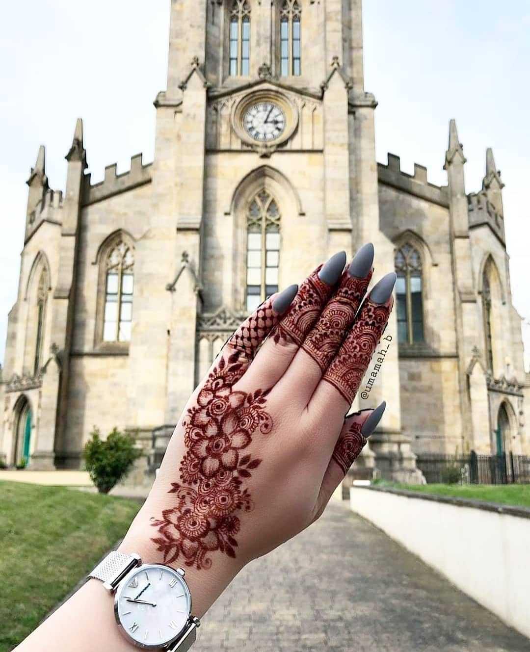 Trending Henna Design For Rakshabandhan