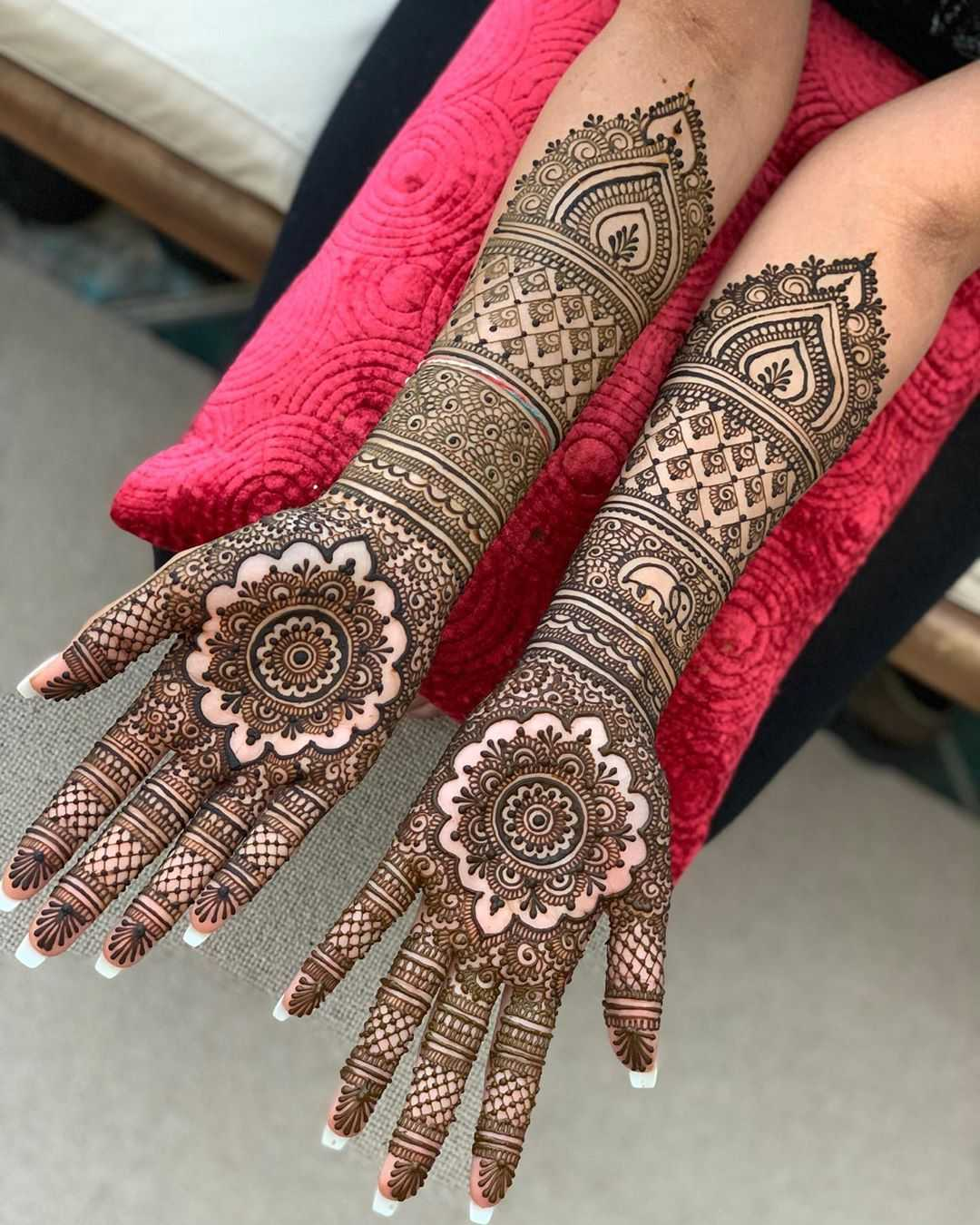 full hand mehndi designs for teej
