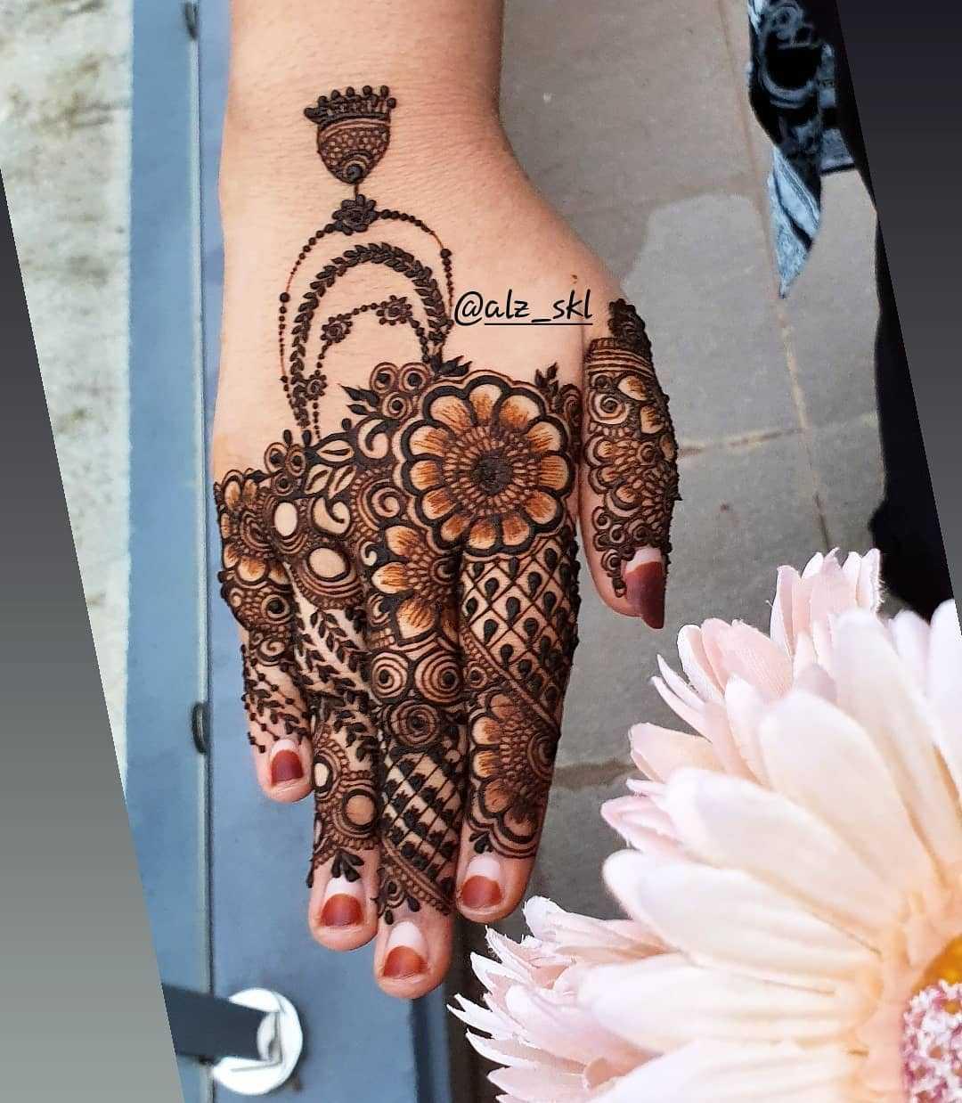 latest Eid Ul-Adha Mehndi Design Images
