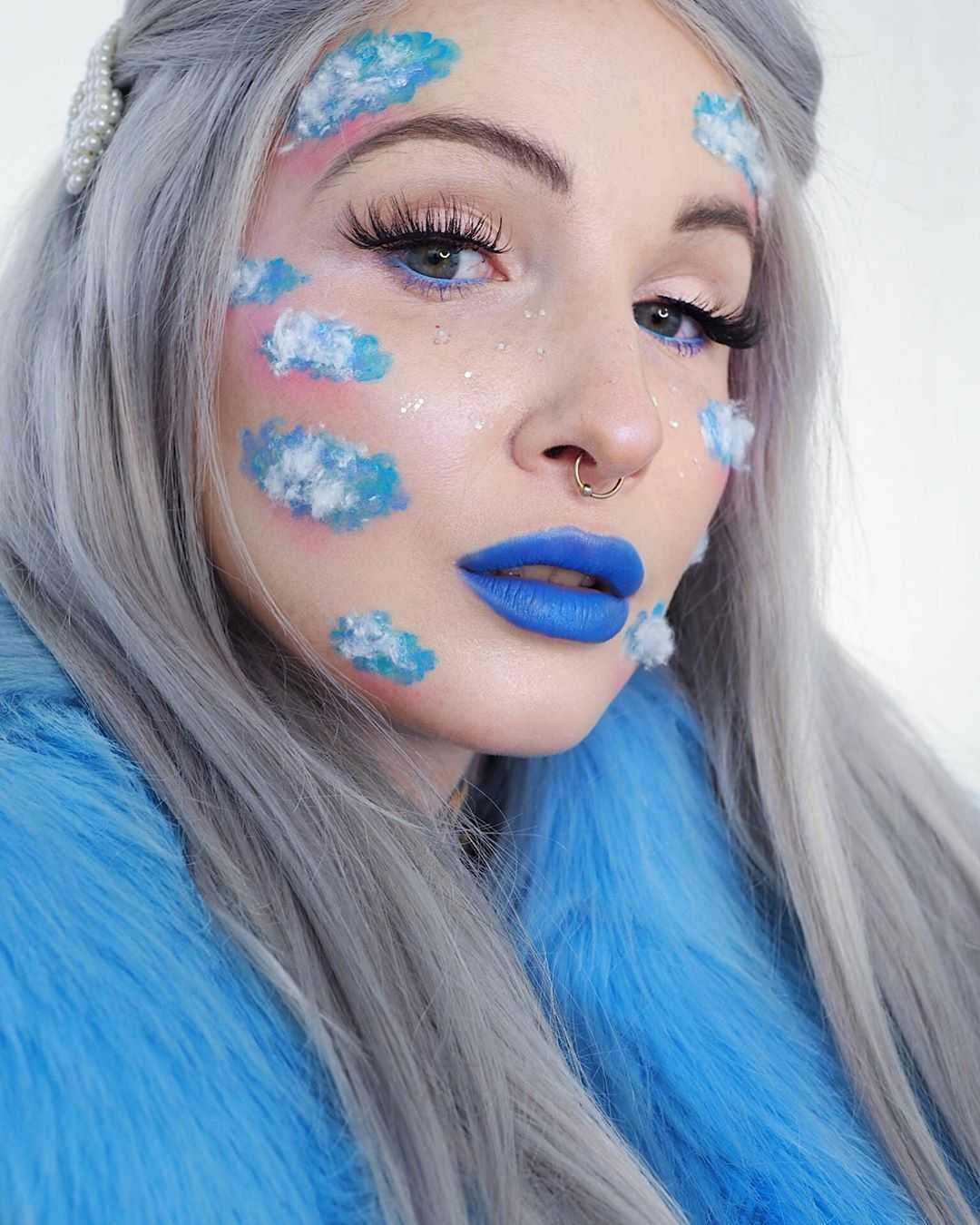 "The ""Sky"" Makeup Look"