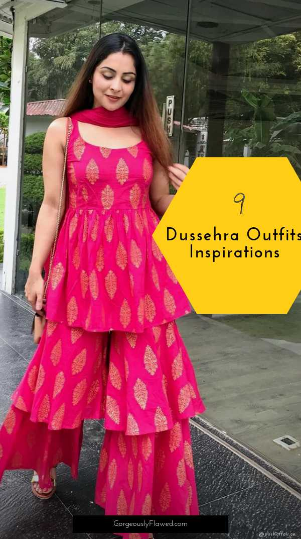 Top 9 Dussehra Outfits Inspirations That Are Trending in 2019