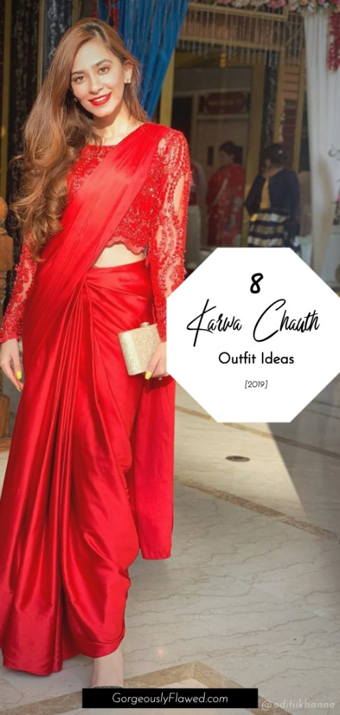 Trendy Karwa Chauth Outfit Ideas [2019]