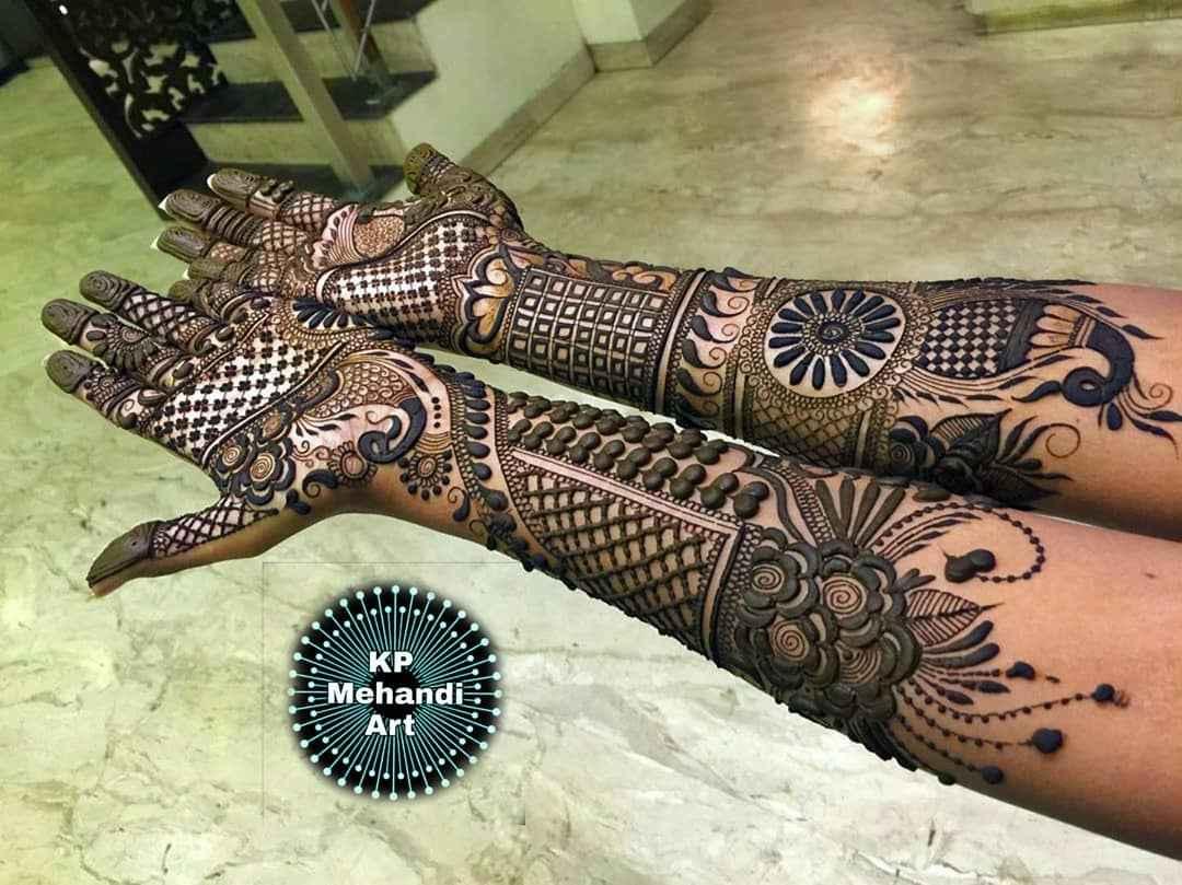 Simple Bridal Mehndi Designs 2020