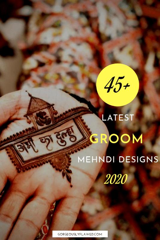 Latest Groom Mehndi Designs 2020