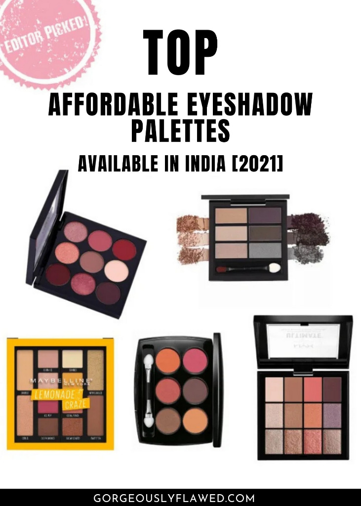 best affordable eyeshadow palettes in india 2021