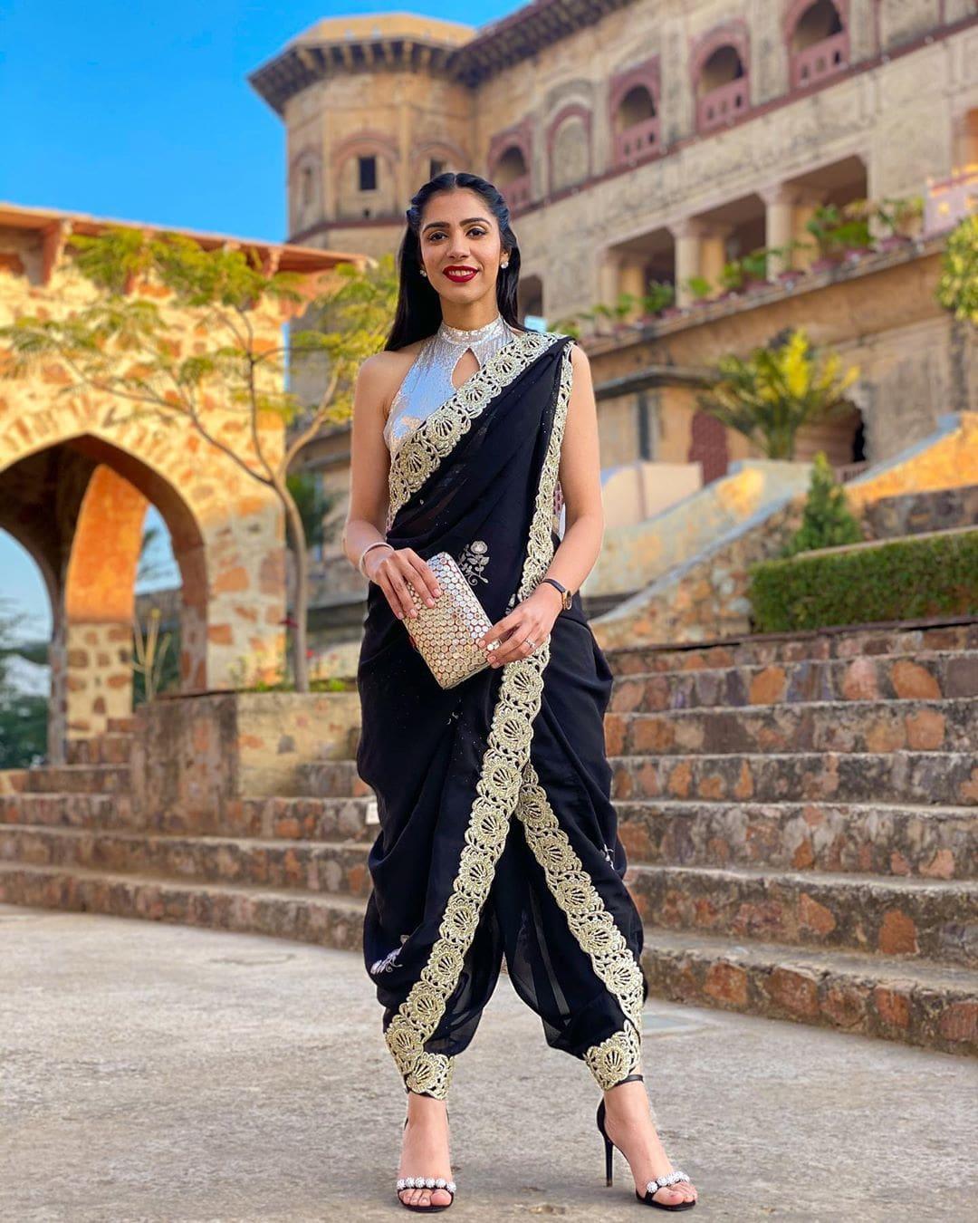 indian wedding bridesmaid sarees