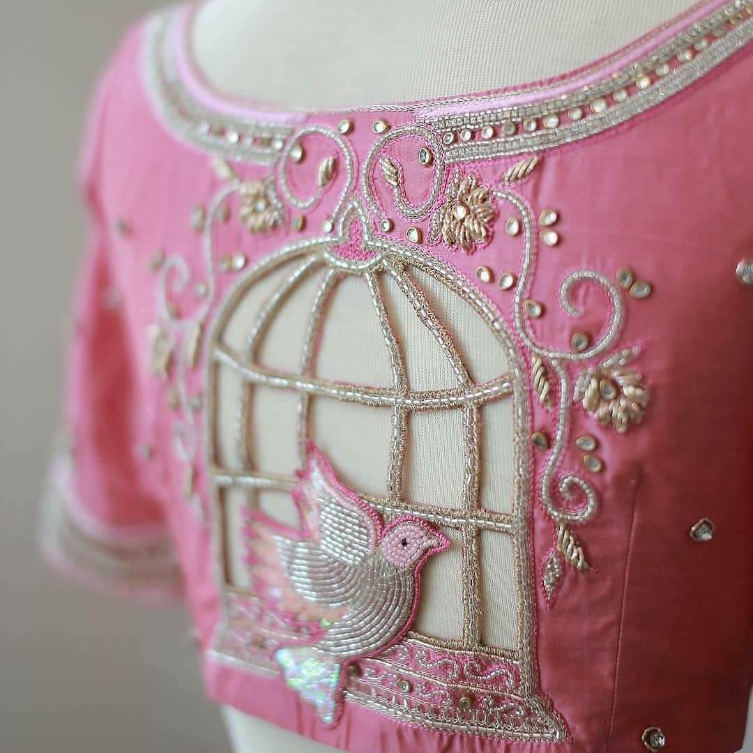 Back Blouse Design