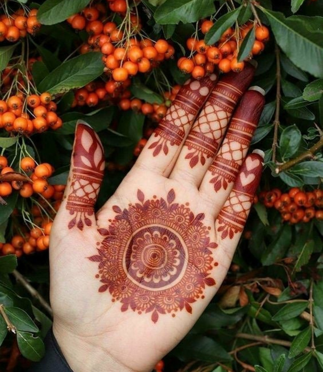 Mandala Mehndi Design For Rakhi 2020