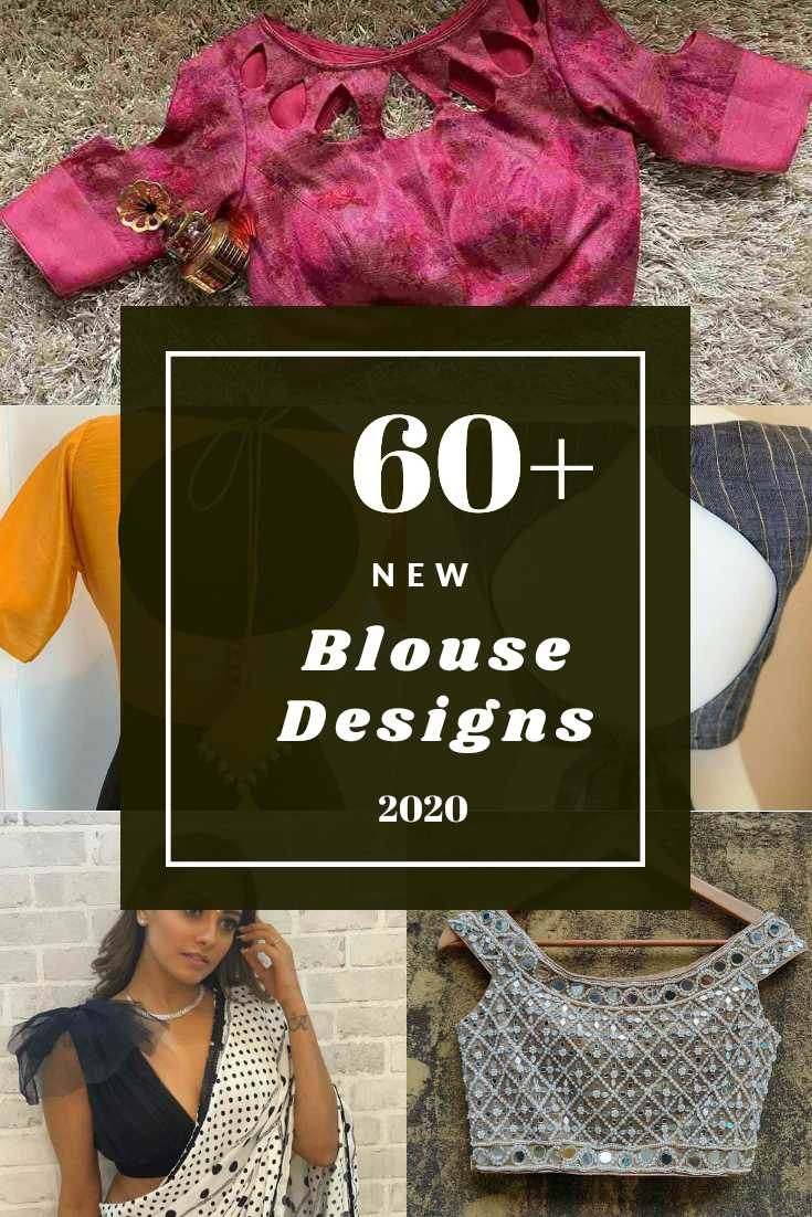 Top 60+ New Blouse Designs [2020] | Latest Blouse Design Inspirations For 2020