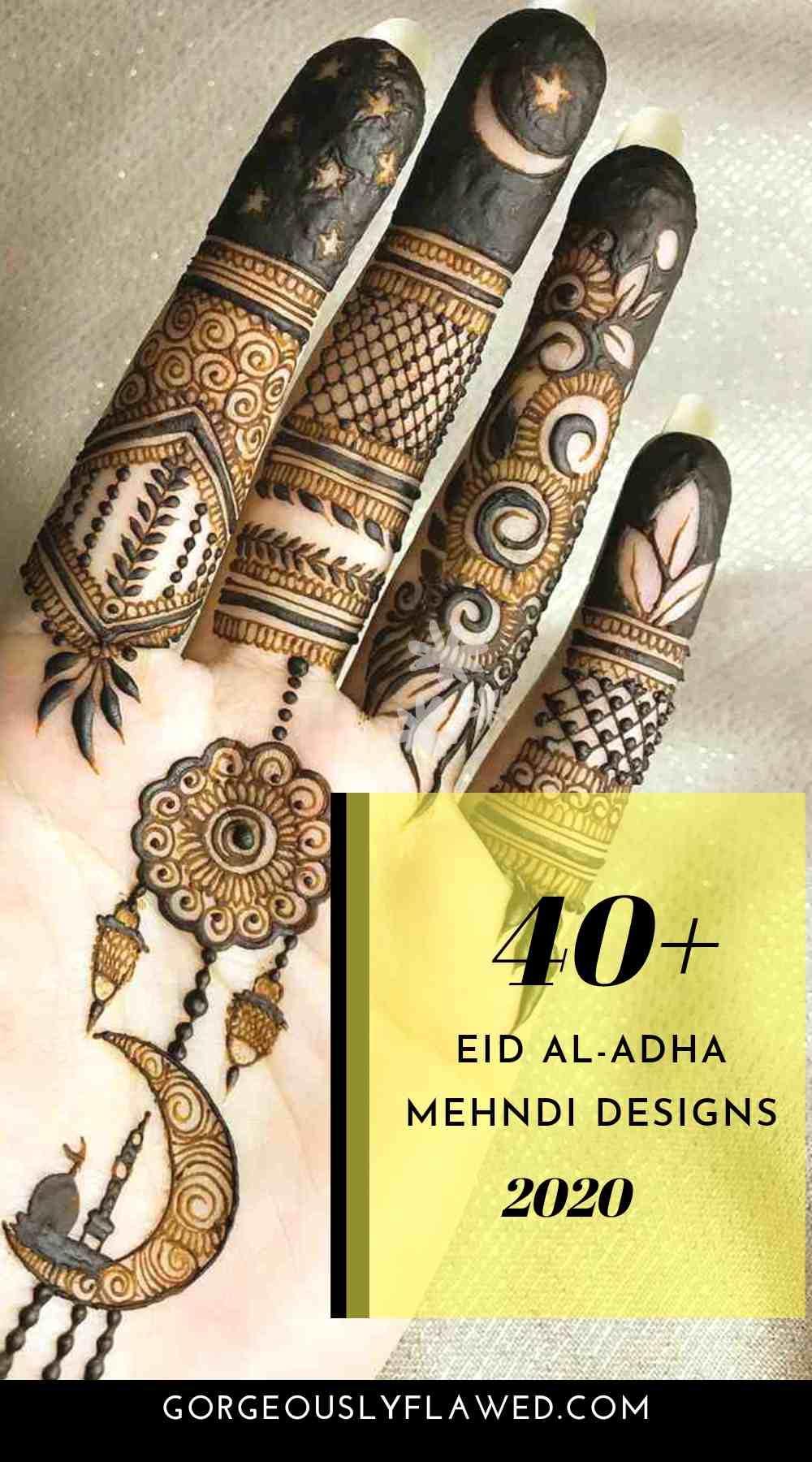 40+ Eid Al-Adha Mehndi Designs 2020 | Best Mehndi Design Images For Eid Ul-Adha 2020