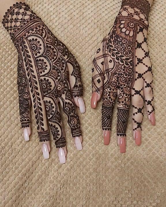 Eid Mehndi Design for both hands