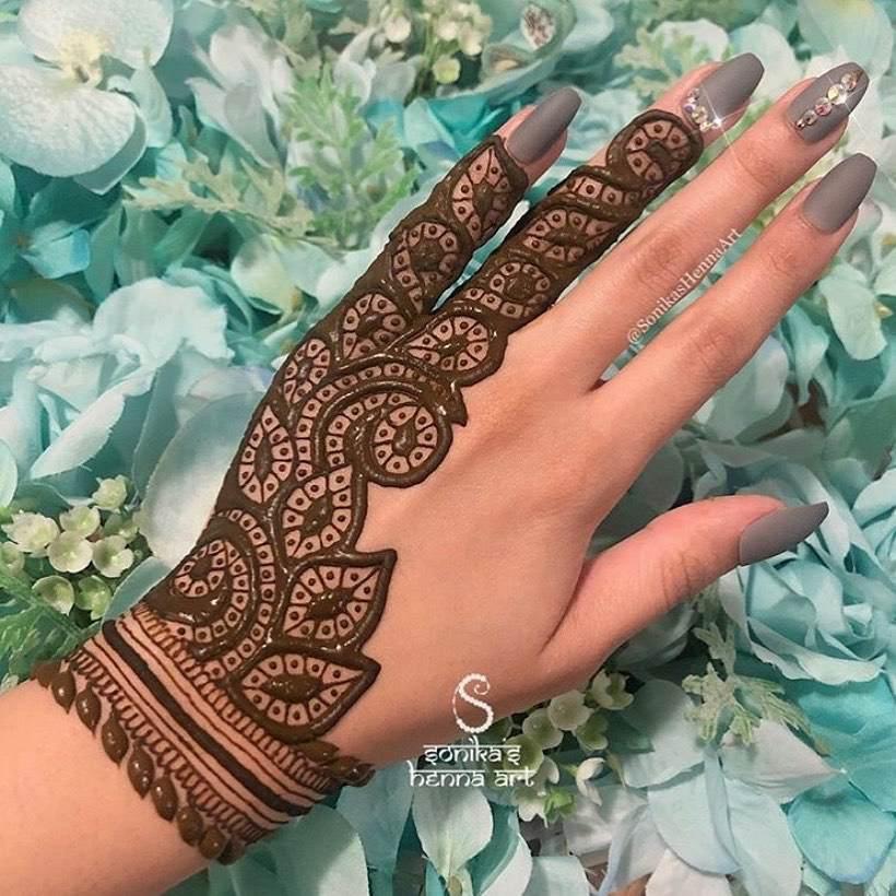 Mehndi Design Inspirations
