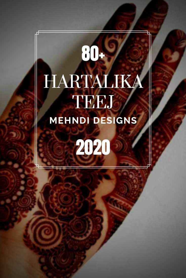 Hartalika Teej Mehndi Designs 2020