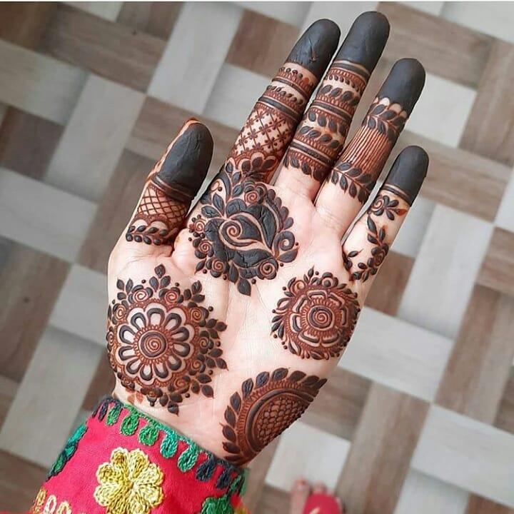 Hartalika Teej Unique Mehndi Designs For Palms