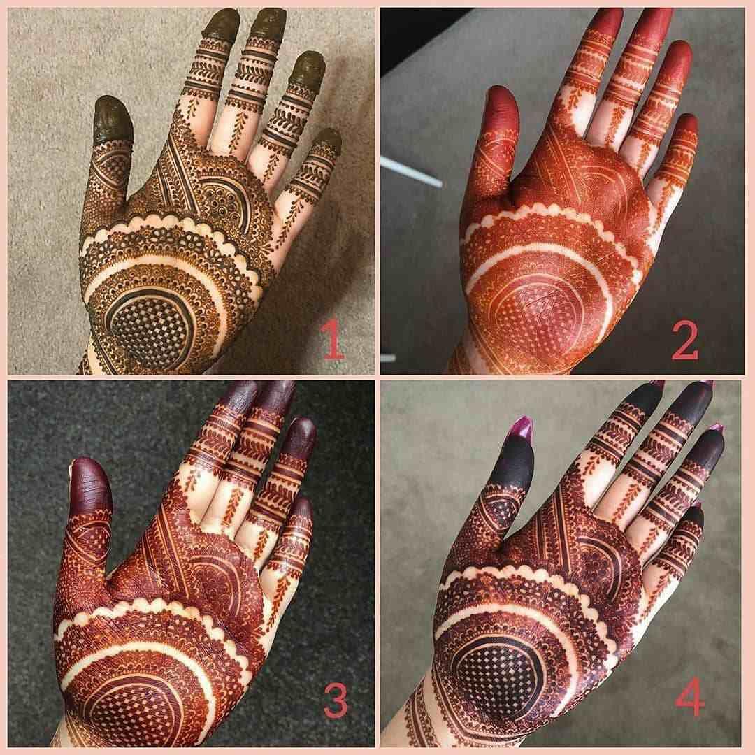 Hartalika Teej Mehndi Designs For Palms