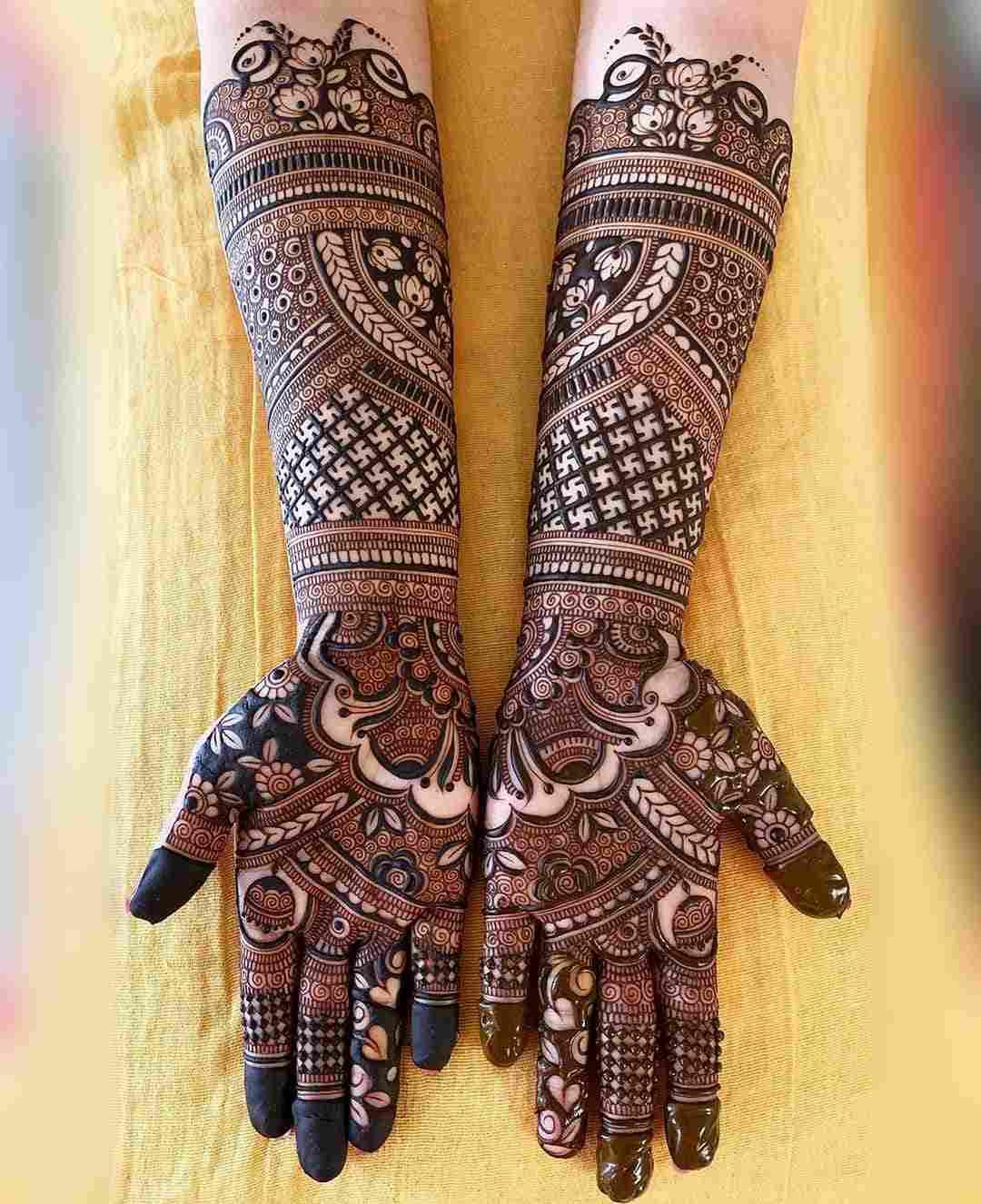 Full Arm Length Mehndi Designs For Hartalika Teej Mehndi Designs 2020
