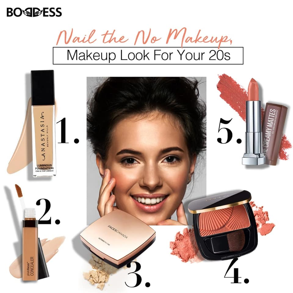 best products for no makeup look