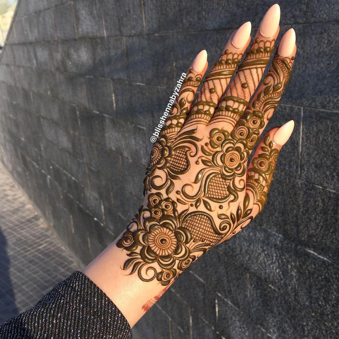 New Henna Design For Eid