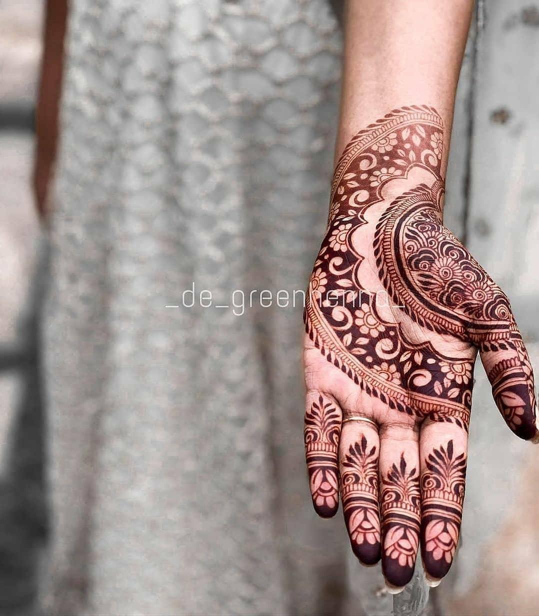Latest Eid Mehndi Designs 2021
